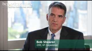 creating value for shareholders an interview with vf corporation cfo bob shearer