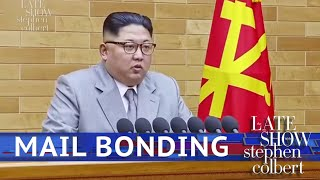 Kim Jong Un Shares His Letter From President Trump