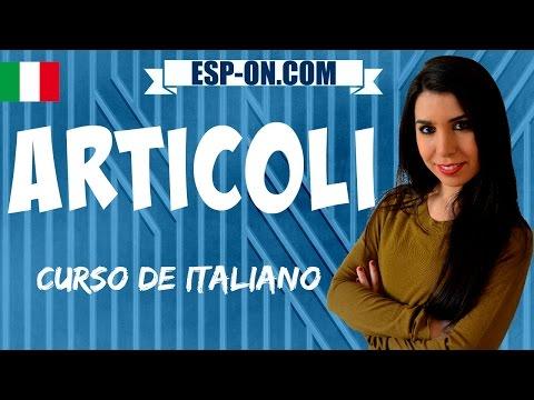 Clases De Italiano 7 - Los Artículos