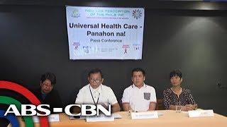 Bandila: Pagpasa ng universal healthcare bill, ipinanawagan