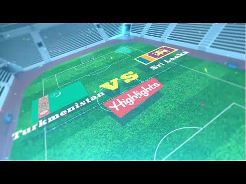 FIFA World Cup 2022 Qualifiers | Turkmenistan vs Sri Lanka | Match Highlights