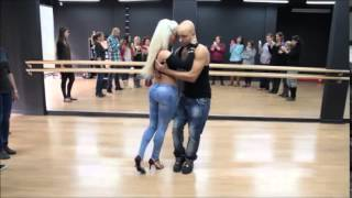 Hot Kizomba Dance -- Song /  Ukimwona By Diamond Platnumz