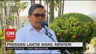 Putra Suku Dayak Jabat Wakil Menteri KLHK