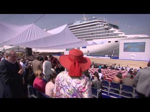 Costa Deliziosa, la cerimonia di inaugurazione a Dubai