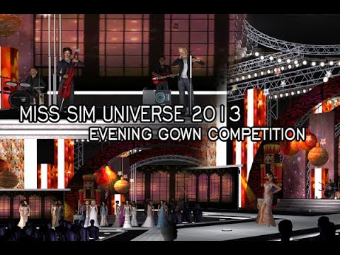 Miss Sim Universe 2013 - Evening Gown Competition