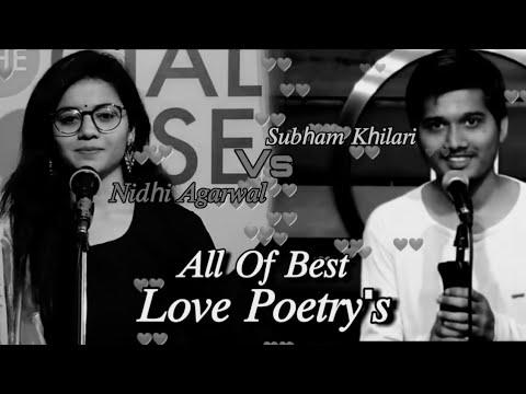Download 2020 All Of Best Love Poetry's ��    Subham Khilari Vs Nidhi Agarwal    Shayari Store