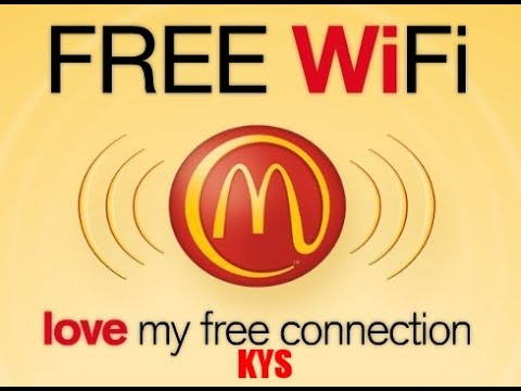 how to make mcdonalds wifi faster