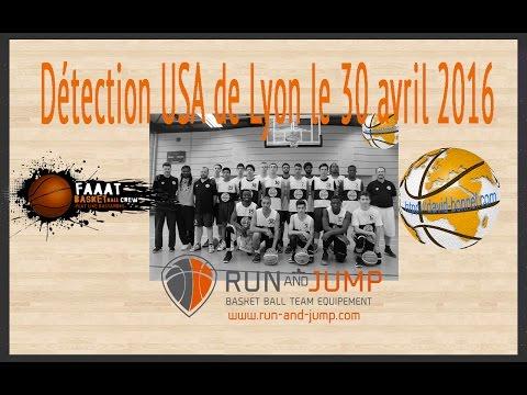 Détection USA basketball Lyon - 30 avril - Match 1 matin