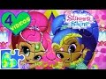 4 SHIMMER AND SHINE MOVIE GAME PUZZLES FOR KIDS!  Rompecabezas de Shimmer and Shine.