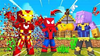 THANOS SONSUZLUK ELDİVENİYLE KATİL OLURSA - Minecraft Katil Kim