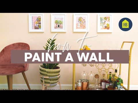 How To Paint Your Walls Like A Pro | House Beautiful