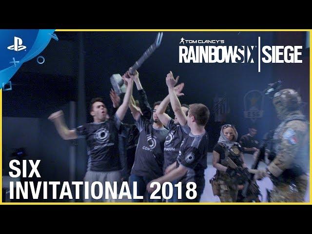 Rainbow Six Siege - Six Invitational 2018 Launch Trailer | PS4