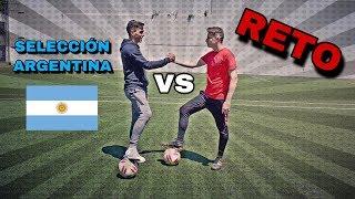 RETO DE FUTBOL vs JUGADOR DE LA SELECCIÓN ARGENTINA