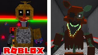 Becoming NEW Ignited and Phantom Animatronics in Roblox FNAFVerse