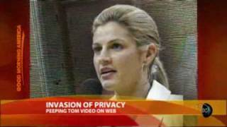 ERIN ANDREWS: Nude Video of ESPN Reporter | CONTROVERSIAL!
