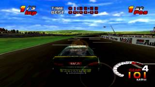Toca - Touring Car Challenge Gameplay Single Race (PlayStation)