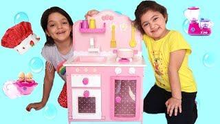ELİF ÖYKÜ VE MASALIN MUTFAĞI KAYBOLDU - Kids Fun Pretend Play Toy Kitchen Set