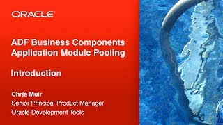 1 by the poolside introduction to adf bc application module pooling