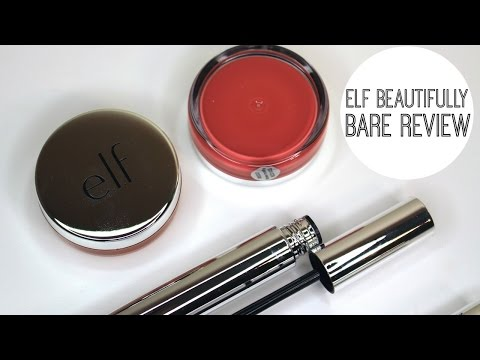 ELF Beautifully Bare Collection Review | Bailey B.