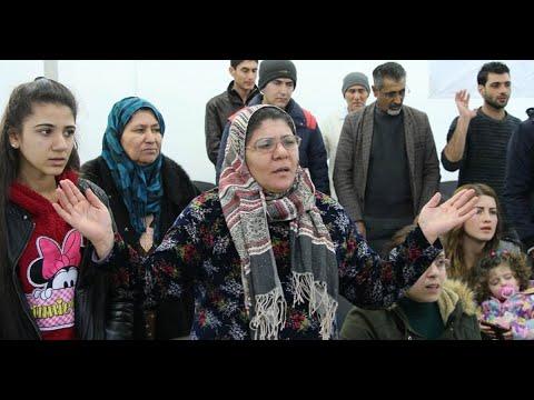 Sunni Muslim Converts , open First Church in Kobani , Alleppo (Subtitle)