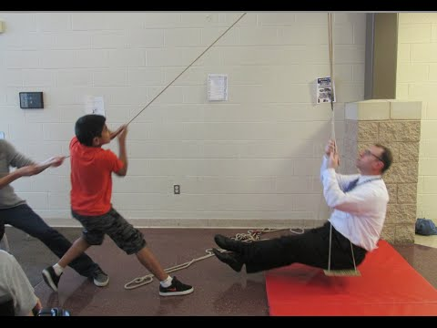 Single and compound pulleys review - lifting our principal /