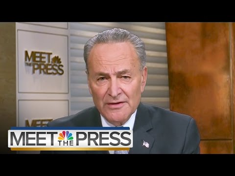 Senator Chuck Schumer On Future Of Russia Investigation And FBI (Full) | Meet The Press | NBC News