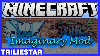 GRAFFITI DI MINECRAFT?!? | Imaginary Mod | Minecraft Mod Showcase