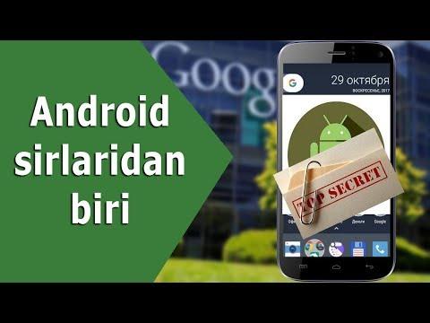 Android Sirlaridan Biri