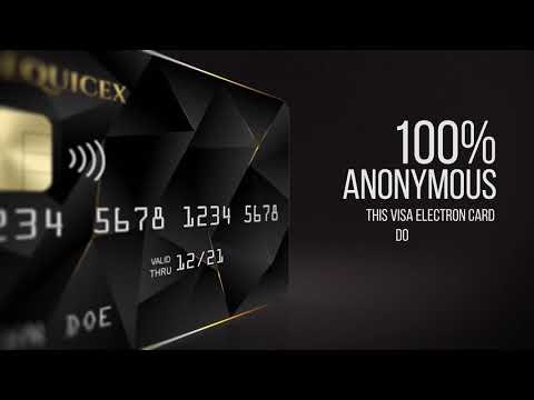 Bitcoin Black Card - 100% Anonymous NO ID NO LIMITS