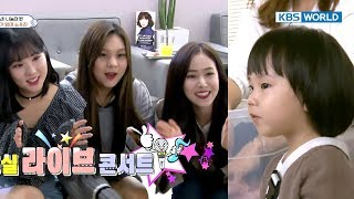 Video Rohui is excited when GFRIEND gives her snacks! [TROS/2017.11.12] download MP3, 3GP, MP4, WEBM, AVI, FLV November 2017
