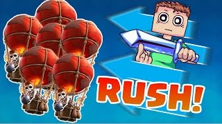 Clash Royale 2v2: SIX BALLOONS!!