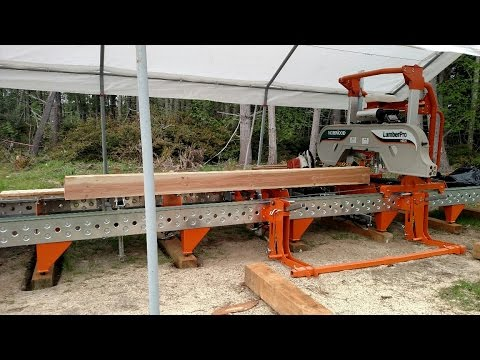 EUTOPOS Farm & Gardens - Norwood HD36 Sawmill - FIRST CUT!!!