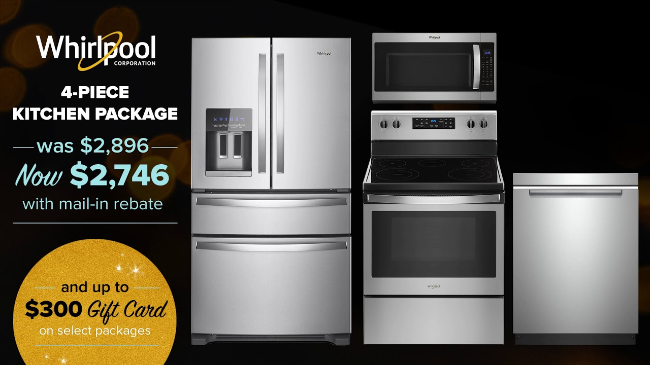 Appliances Connection Black Friday Kitchen Package Sale 2019