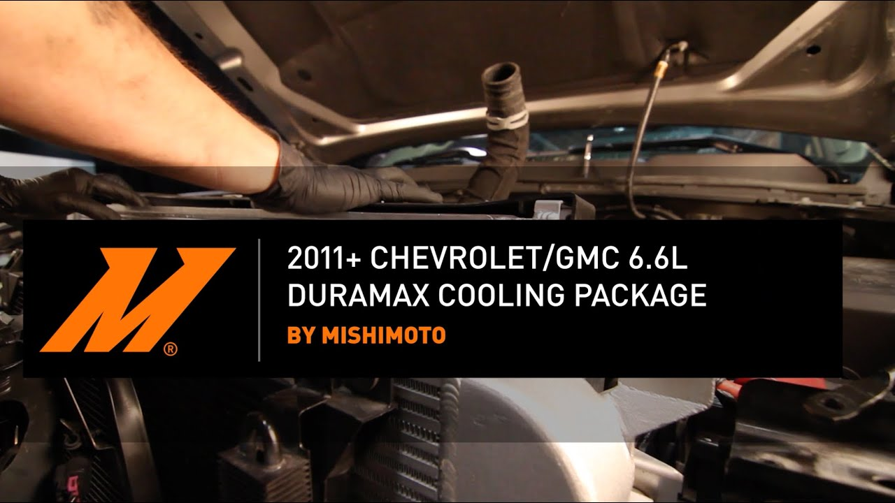 2011-2016 Chevrolet/GMC 6 6L Duramax Cooling Package Installation Guide By  Mishimoto
