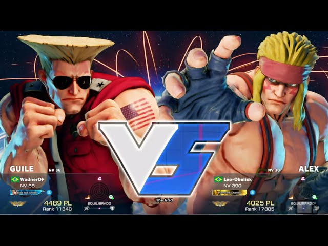 Sfv - Guile Vs Alex
