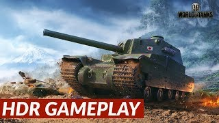 World of Tanks - HDR gameplay [PS4 Pro]