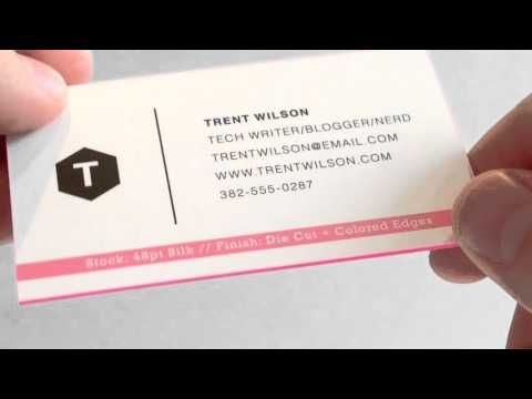 Silk Matte Laminated Business Cards