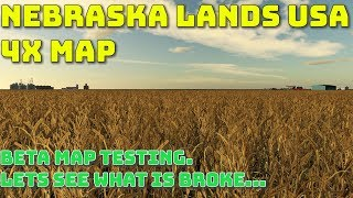 Nebraska Lands USA - 4X american map - Beta map seasons testing pre release