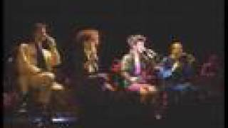 Manhattan Transfer Vocalies Live at Tokyo in Japan 1986 Janis Siege...