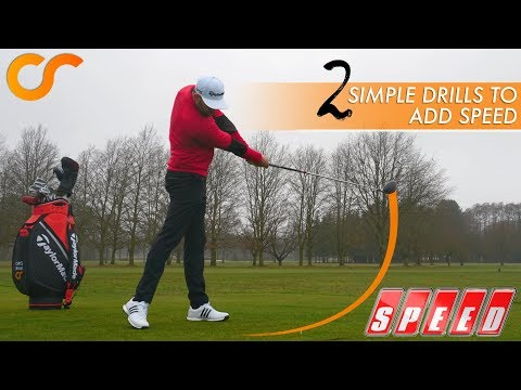 2 SIMPLE DRILLS FOR MORE CLUB HEAD SPEED