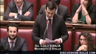 M5S Parlamento Sibilia Attacca Renzi - Boldrini Interviene e Caos