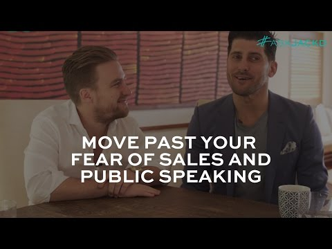 Move Past Your Fear of Sales & Public Speaking | #AskJackD 205