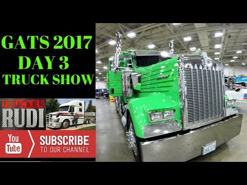 #GATS 2017 DAY 3 AT THE DALLAS TX TRUCK SHOW TRUCKER RUDI 08/26/17 Vlog#1172