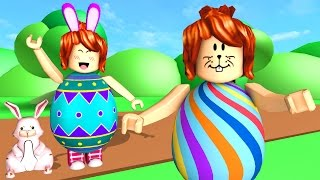 ROBLOX-WE TURN EASTER EGGS (Egg Hunt)