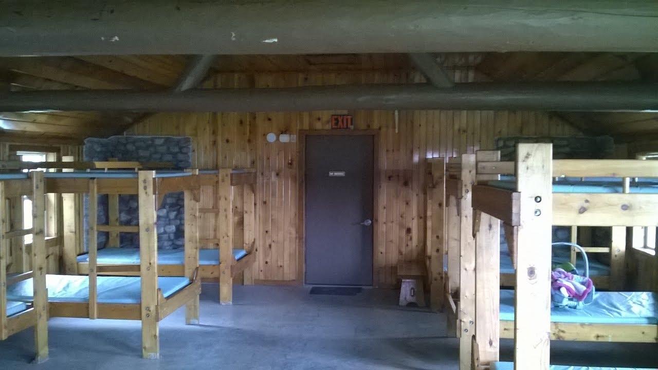 JW Wells state park cabins