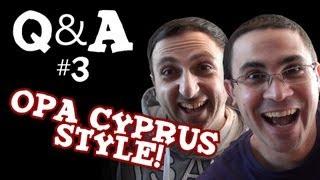 Q&A me ton Nicola Jovani! (Opa Cyprus Style)(Apantisame erotiseis parmenes ap'to Facebook gia ton Nicola! Katevaste to neo '2J app' gia Android edw!, 2013-01-20T13:18:39.000Z)