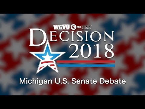 2018 Michigan U.S. Senate Debate - U.S. Senator Debbie Stabenow (D) and John James (R)