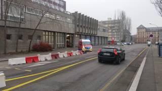 [SDIS68] Départ VSAV3 CSP Mulhouse