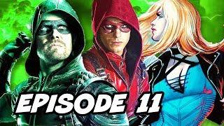 Arrow Season 6 Episode 11 - TOP 10 WTF, Roy Harper and Easter Eggs