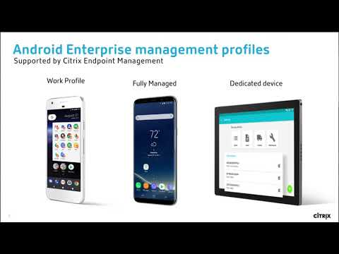 Explore the workflow differences between Citrix XenMobile 9